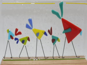 Polly Plourde Fused Glass