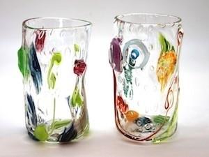 Tandem Glass Blown Glass