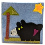 Bear by Lynn Holaday Felt & Quilting.