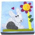 Bunny by Lynn Holaday Felt & Quilting.