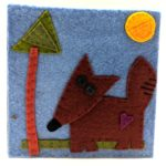 Fox by Lynn Holaday Felt & Quilting.